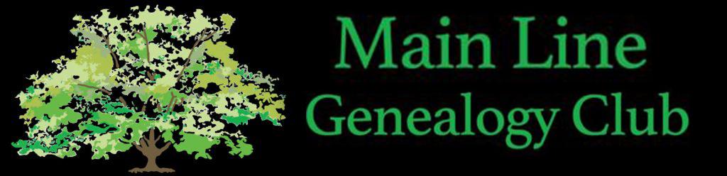 Main Line Genealogy Club